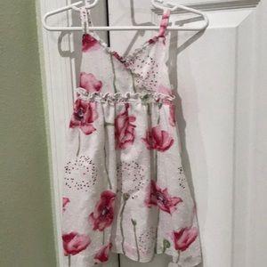 Toddler flower sundress
